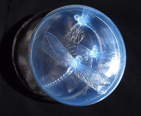 Home. LALIQUE GEORGETTE BOX